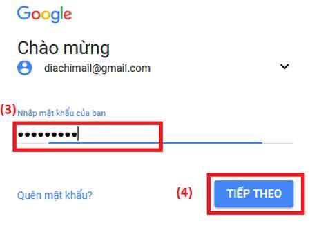 gmail đăng nhập