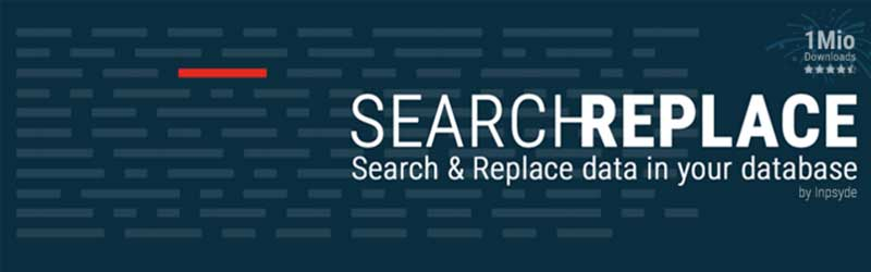 search & replace plugin wordpress